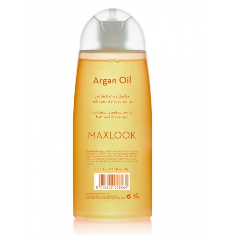 Gel argán MAXLOOK 250 o 750ml
